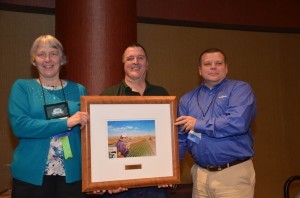 Midwest Cover Crop Council Award at 2013 National No-till Conference